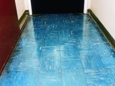 Floor tiles containing asbestos
